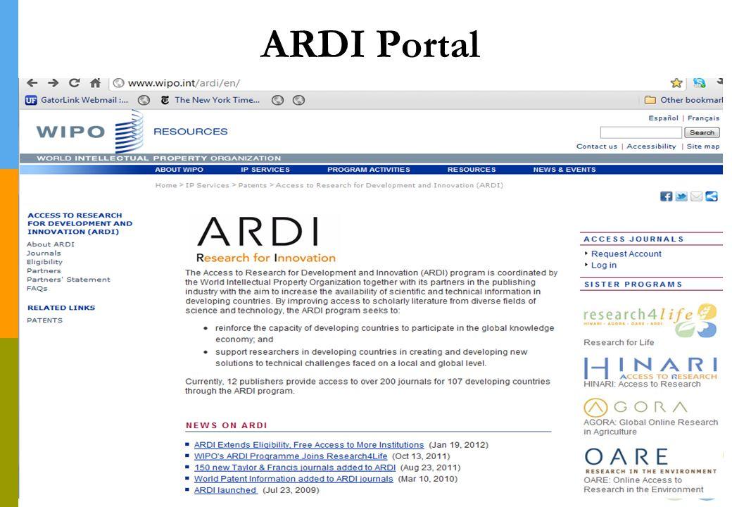 ARDI Portal