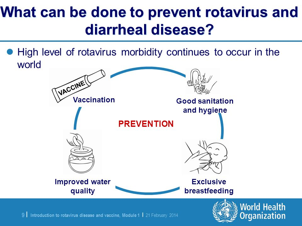 Introduction to rotavirus disease and vaccine, Module 1 | 21 February 2014 9 |9 | High level of rotavirus morbidity continues to occur in the world Wh