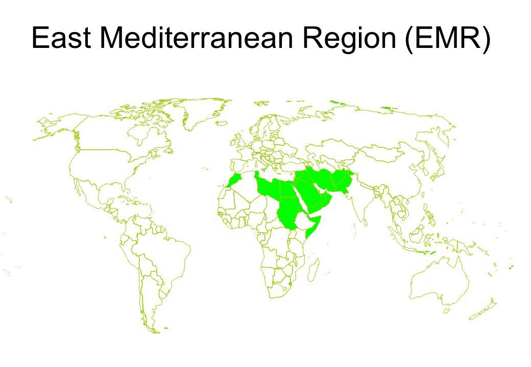 East Mediterranean Region (EMR)