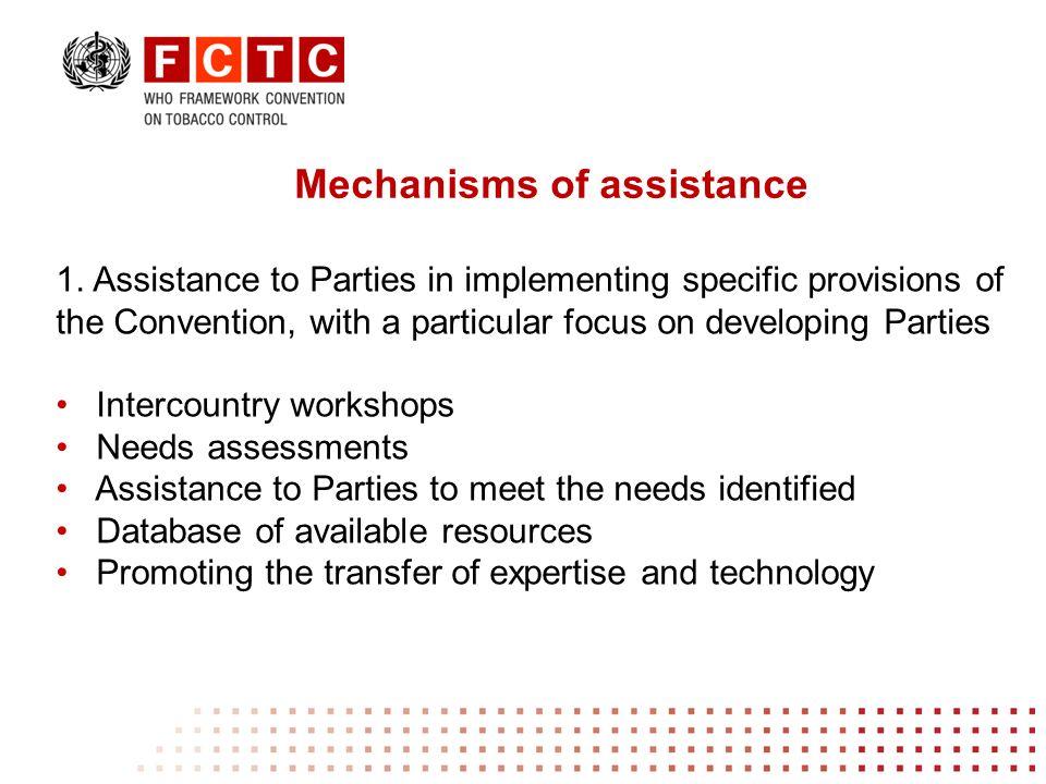 Convention Secretariat fctcsecratariat@who.int www.who.int/fctc