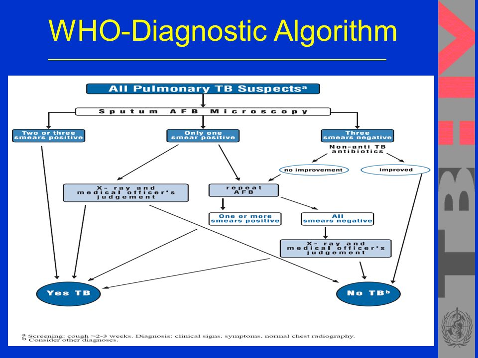 WHO-Diagnostic Algorithm