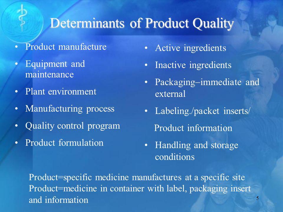 6 Product Selection Procurement Storage/distribution Use Prod.Specs.