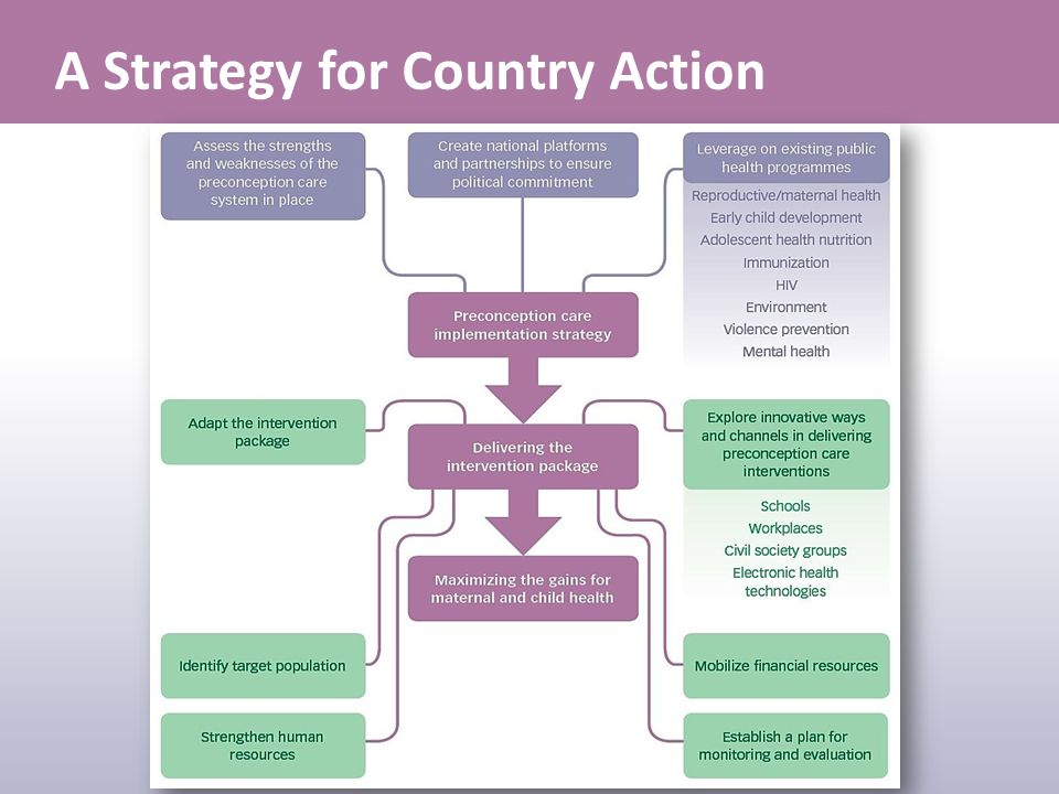 A Strategy for Country Action