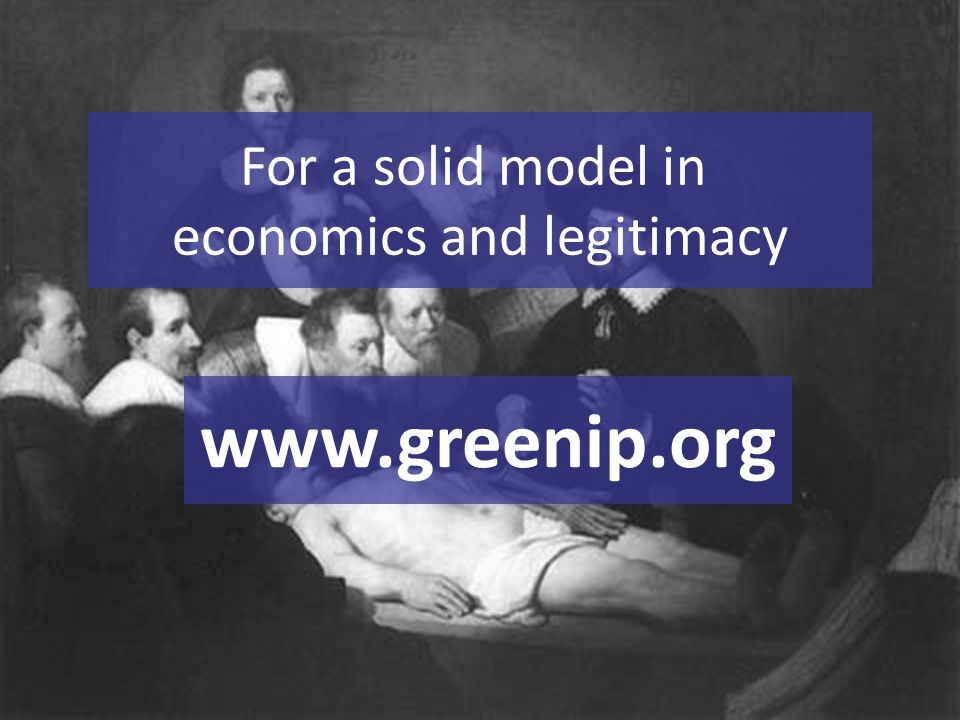 For a solid model in economics and legitimacy www.greenip.org