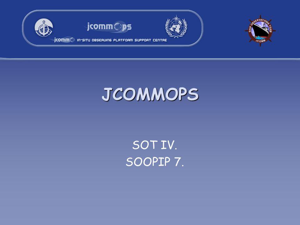 JCOMMOPS SOT IV. SOOPIP 7.