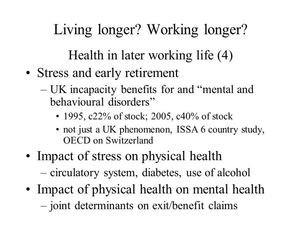 Living longer. Working longer.