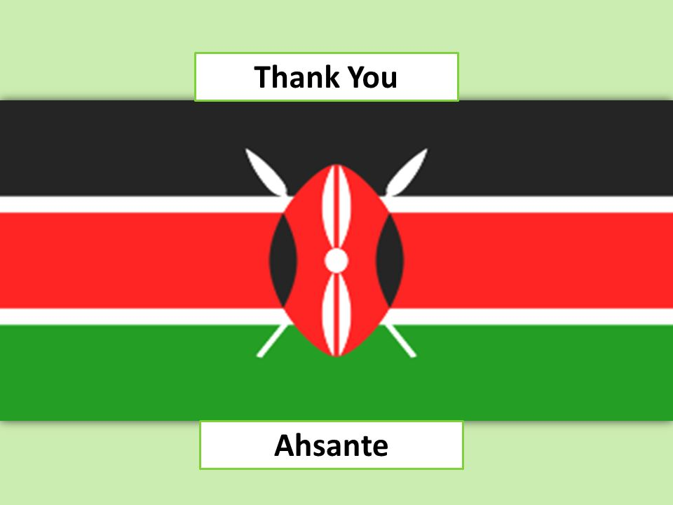 Thank You Ahsante