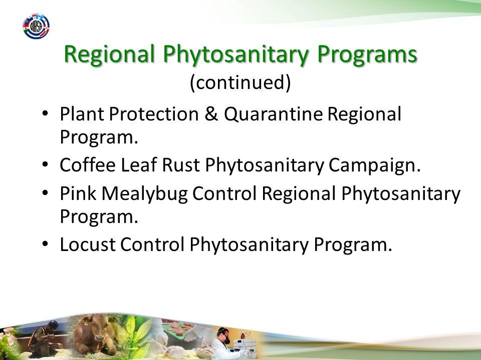 National Phytosanitary Programs Pest Surveillance.