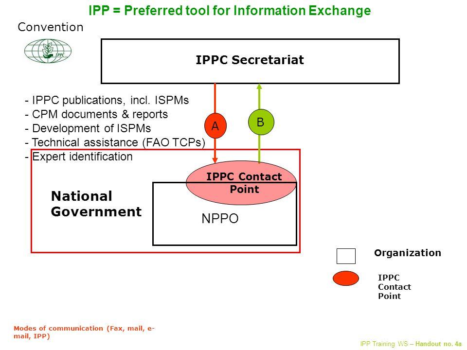 IPPC Secretariat - > NPPO A IPPC publications, incl.