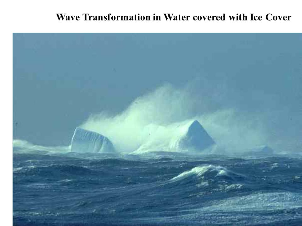 Wave Transformation in Water covered with Ice Cover