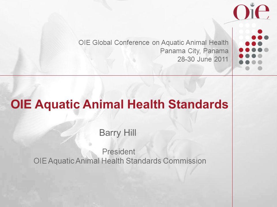 Aquatic Manual Sixth edition of the Manual of Diagnostic Tests for Aquatic Animals (2009)