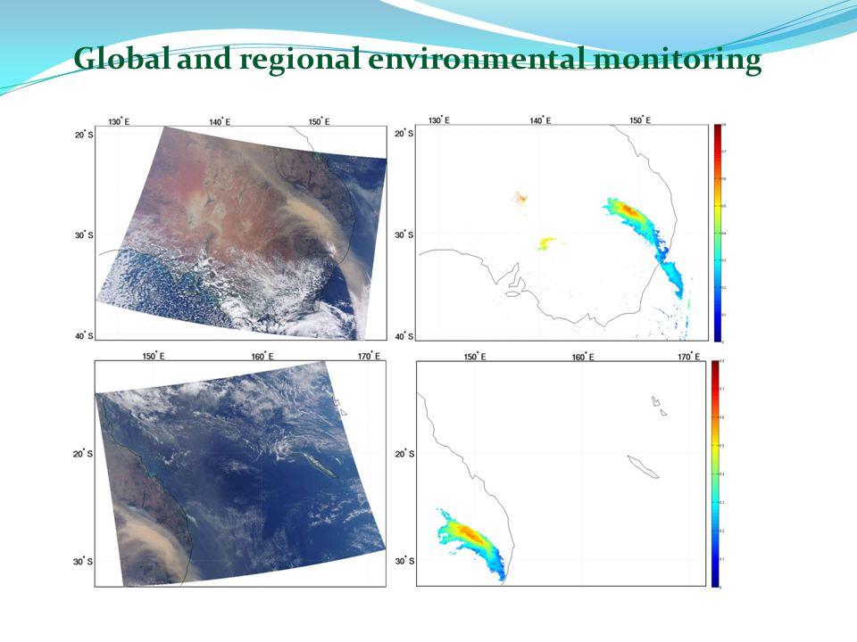 Global and regional environmental monitoring
