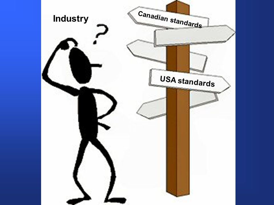 Canadian standards USA standards Industry