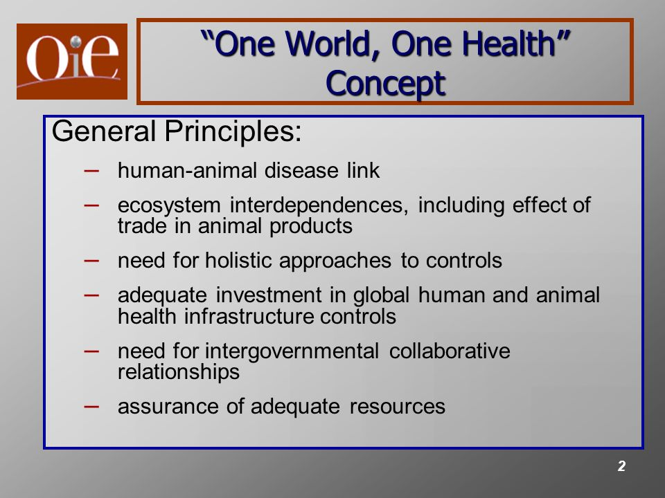 3 Need for Harmonized International Standards for Veterinary Products Veterinary medical products most often require pre-market approval Many veterinary medical products are traded in international commerce Foods and feeds (potentially containing drug residues) are traded in international commerce