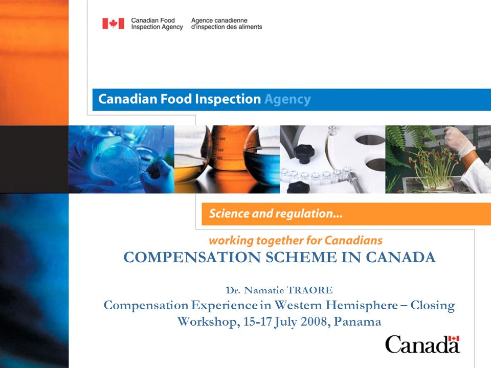 COMPENSATION SCHEME IN CANADA Dr.