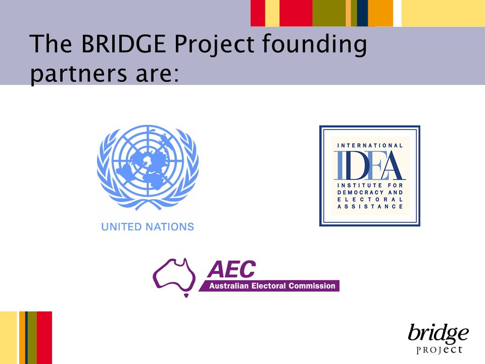 The BRIDGE Project founding partners are: