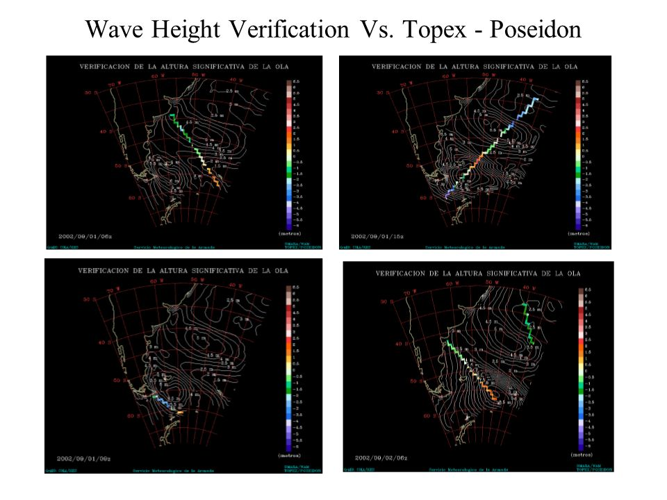 Wave Height Verification Vs. Topex - Poseidon
