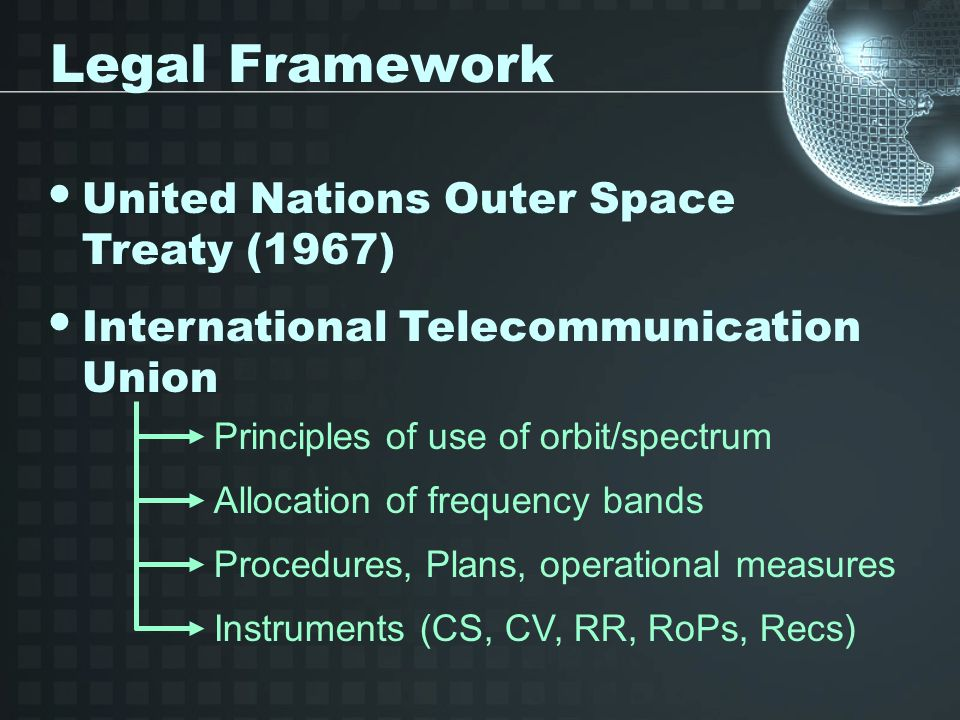 Orbit / Spectrum Allocation World Radiocommunication Seminar (30 October-3 November 2006, Geneva) http://www.itu.int/ITU-R/conferences/seminars/index.html QUESTIONS ?