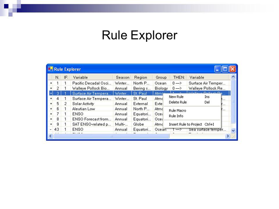 Rule Explorer