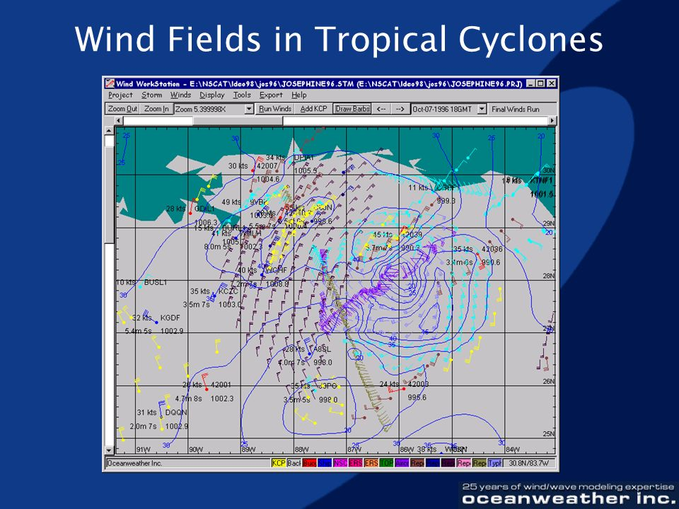 Wind Fields in Tropical Cyclones