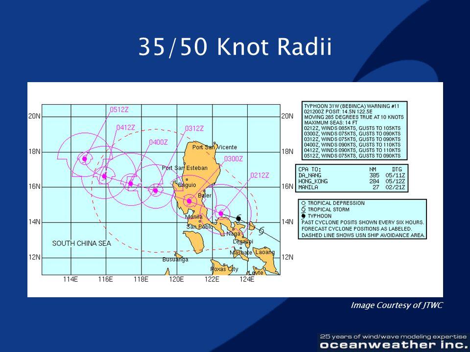 35/50 Knot Radii Image Courtesy of JTWC