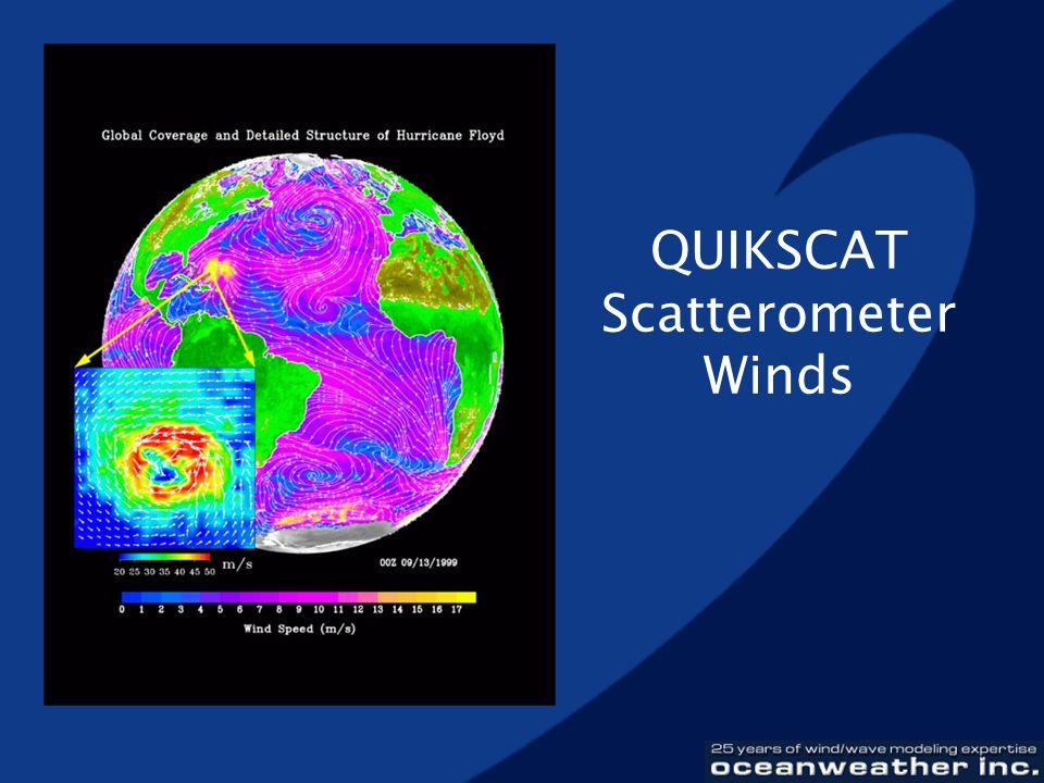 QUIKSCAT Scatterometer Winds