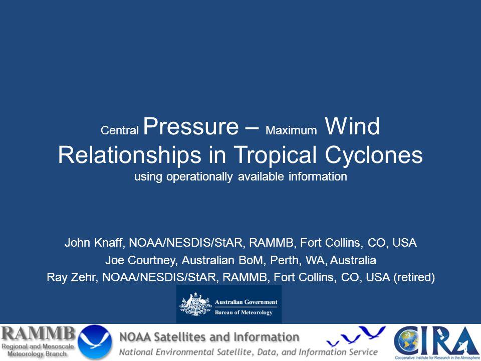 Determining Central Pressure (CP) 1.