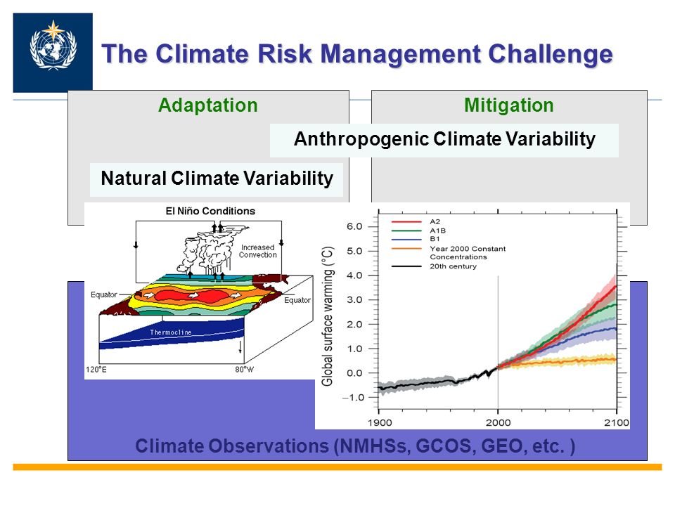 AdaptationMitigation Climate Observations (NMHSs, GCOS, GEO, etc.