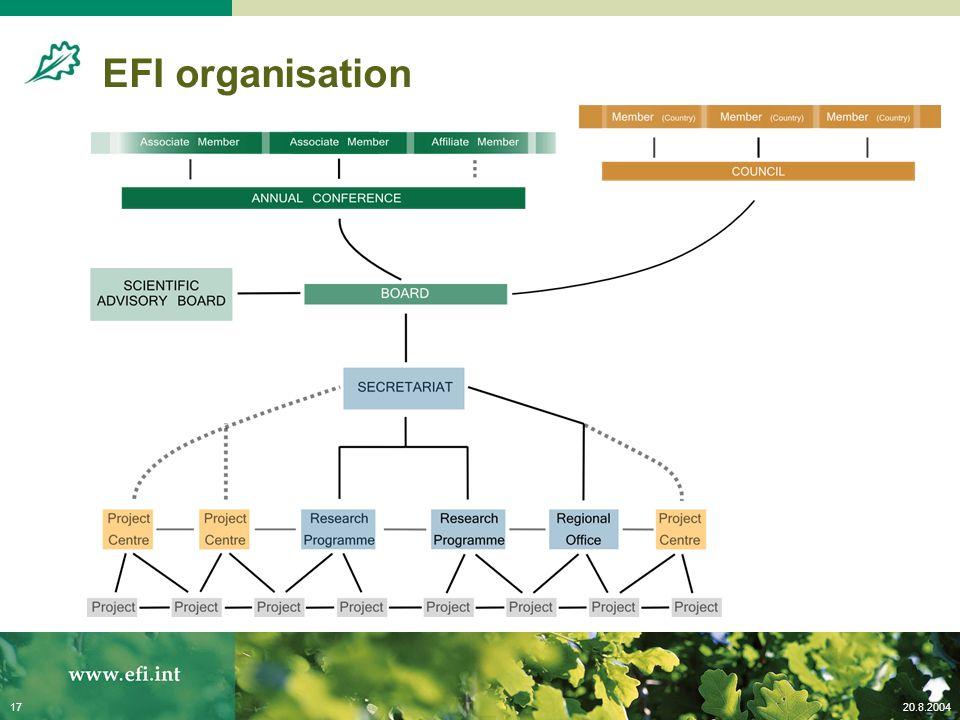 20.8.200417 EFI organisation