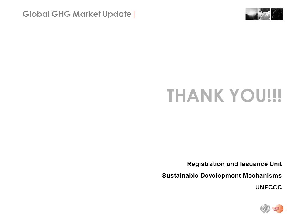 Global GHG Market Update| THANK YOU!!.