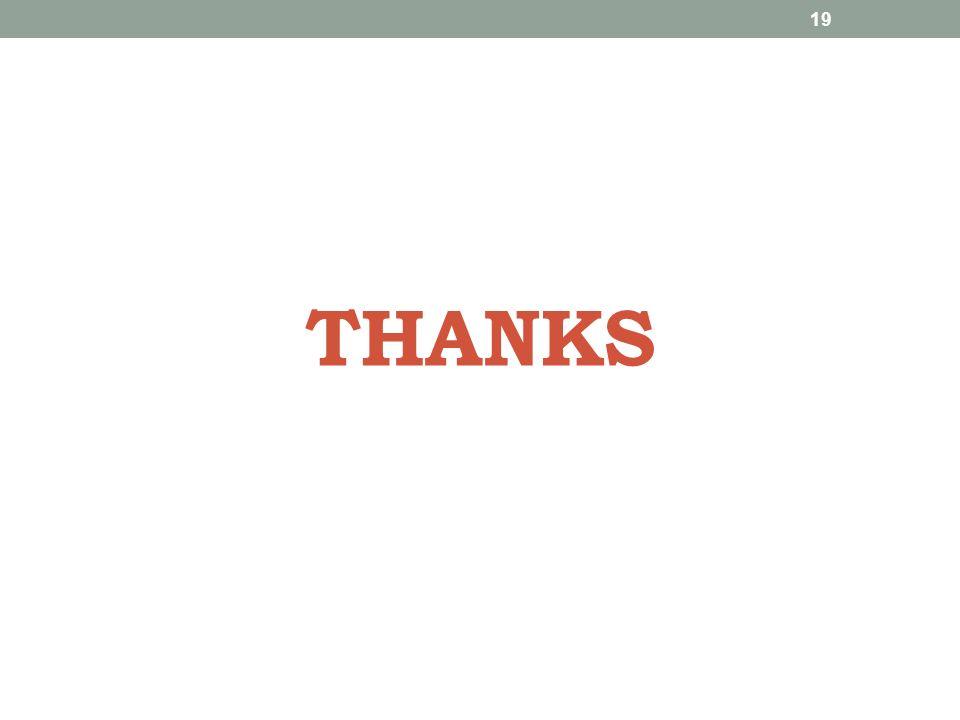 THANKS 19