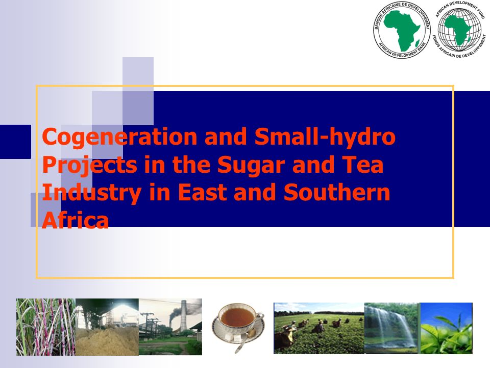 Cogeneration and Small-hydro Projects in the Sugar and Tea Industry in East and Southern Africa