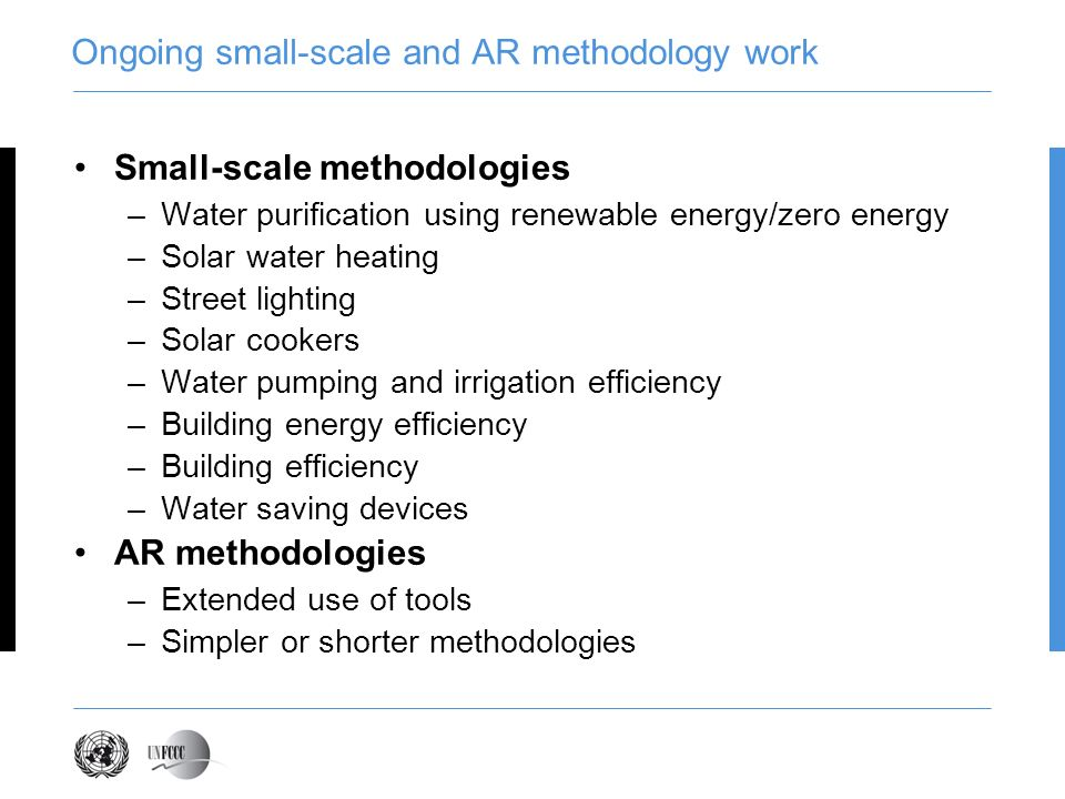 Web interface for commenting on methodologies https://cdm.unfccc.int/methodologies/PAmethodologies/approved