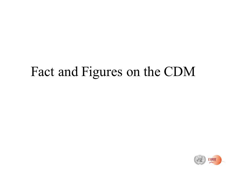 Fact and Figures on the CDM