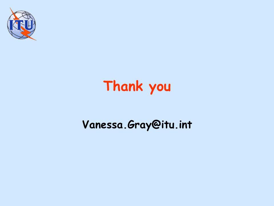 Thank you Vanessa.Gray@itu.int