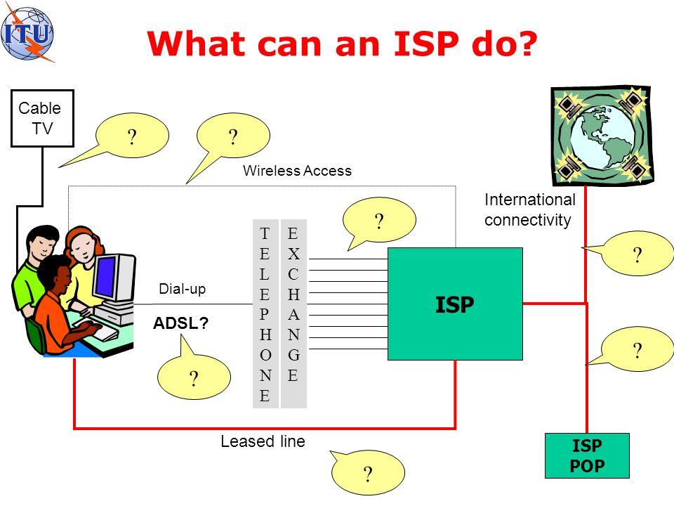 International Gateway Should ISPs operate own international gateway.