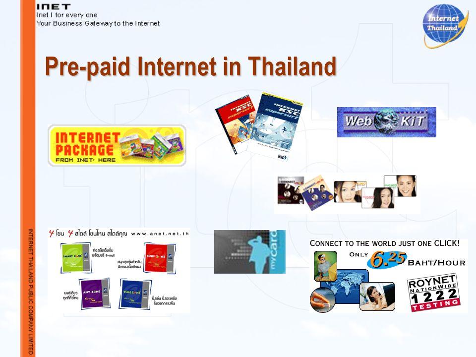 Pre-paid Internet in Thailand
