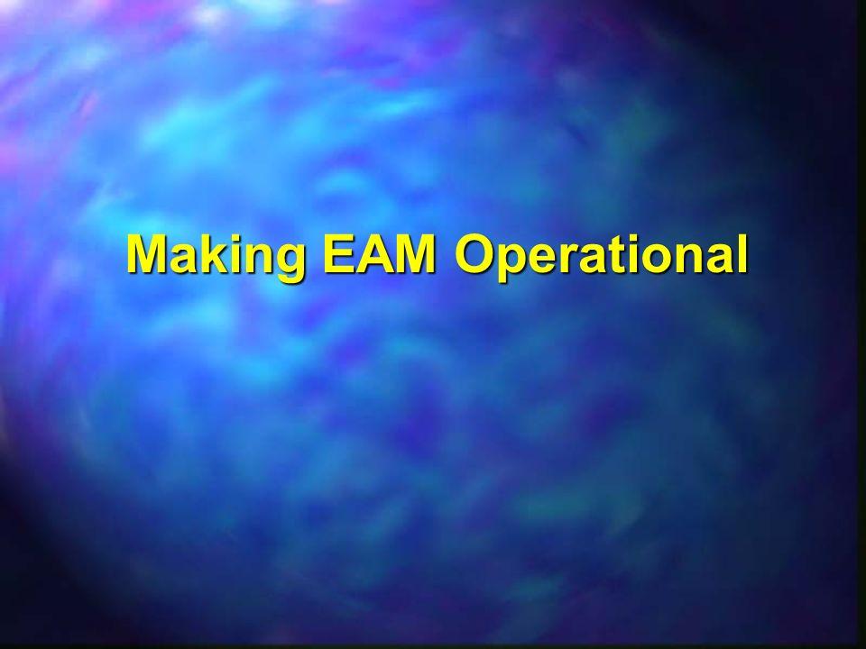 Making EAM Operational