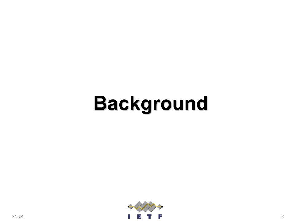 3ENUM Background 3