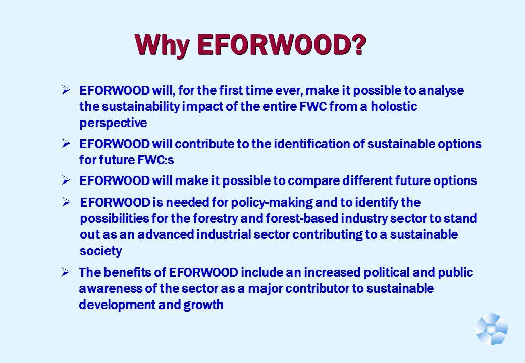 Why EFORWOOD.