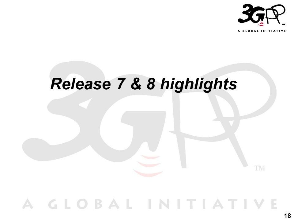 18 Release 7 & 8 highlights