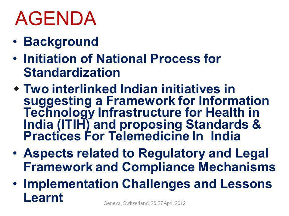 Information Technology Infrastructure for Health As a REGULATOR, Govt.