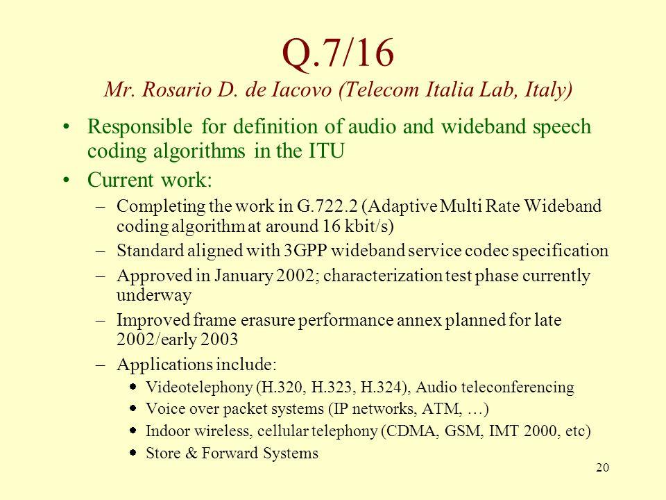 20 Q.7/16 Mr. Rosario D.