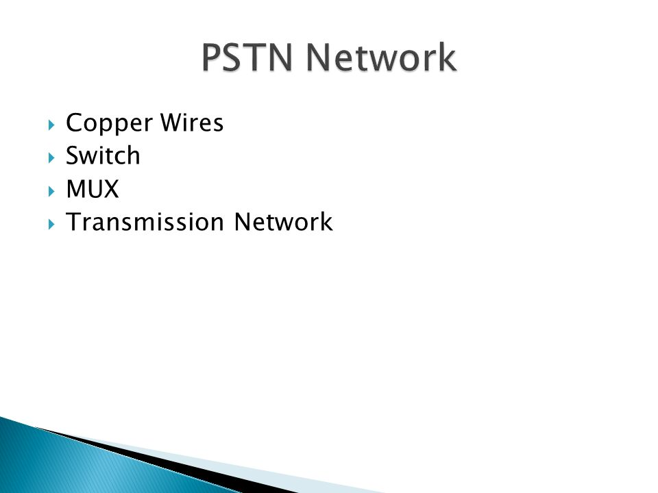 Copper Wires Switch MUX Transmission Network