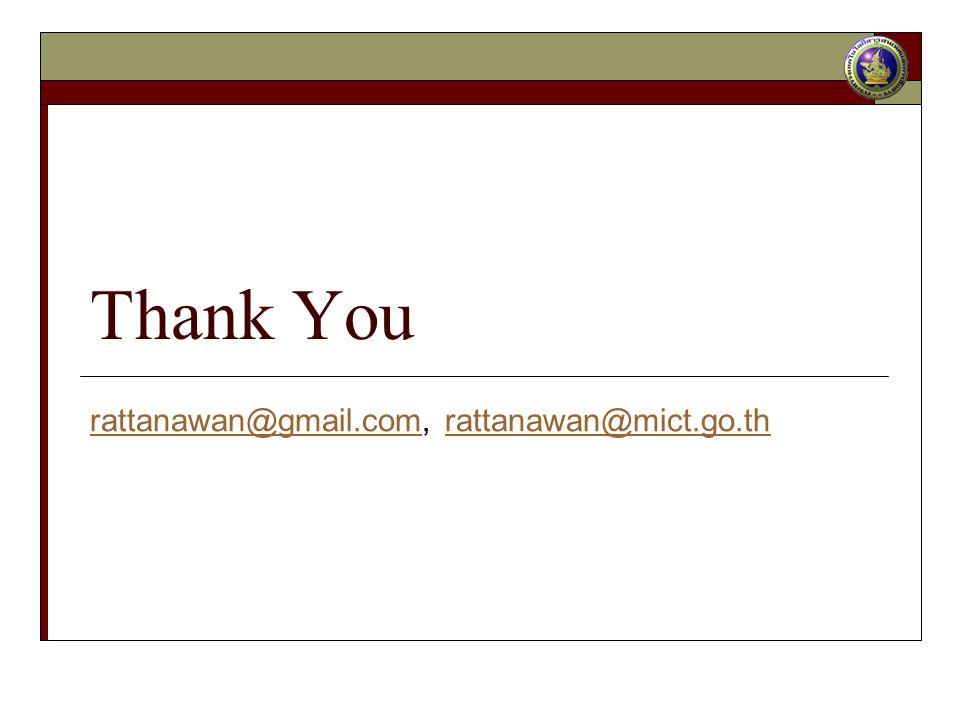 Thank You rattanawan@gmail.comrattanawan@gmail.com, rattanawan@mict.go.thrattanawan@mict.go.th