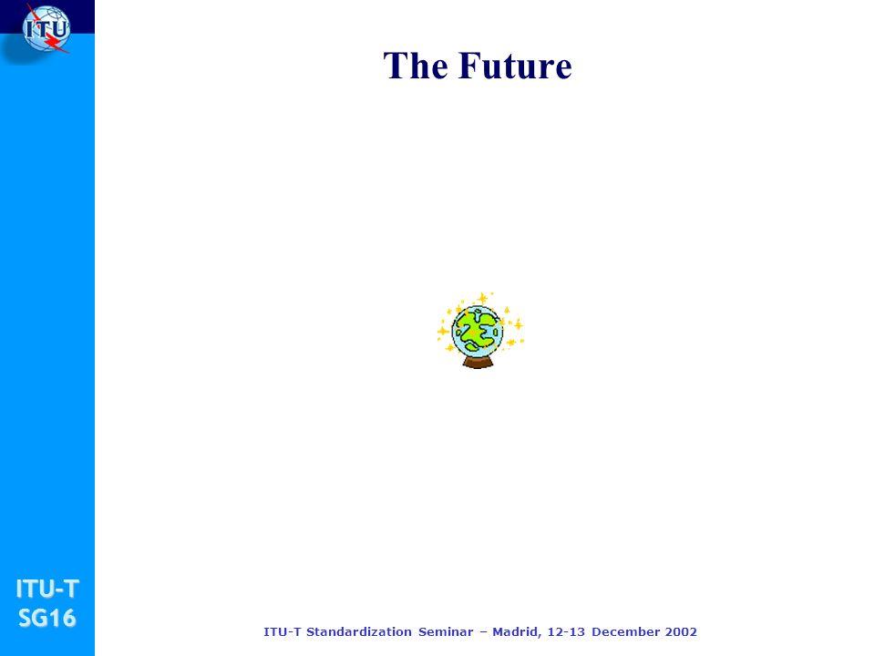 ITU-TSG16 ITU-T Standardization Seminar – Madrid, 12-13 December 2002 The Future