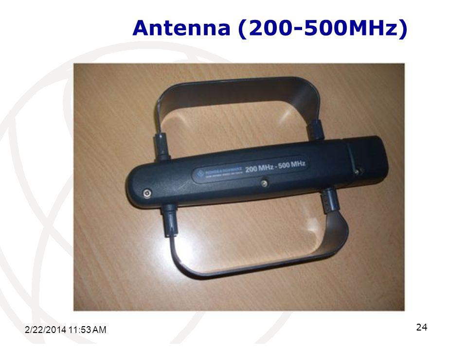 Antenna (200-500MHz) 2/22/2014 11:55 AM 24