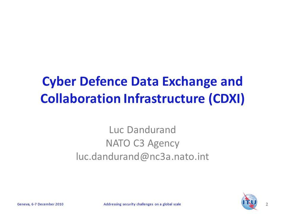 CVE 2010-2941 13 Addressing security challenges on a global scaleGeneva, 6-7 December 2010 […]