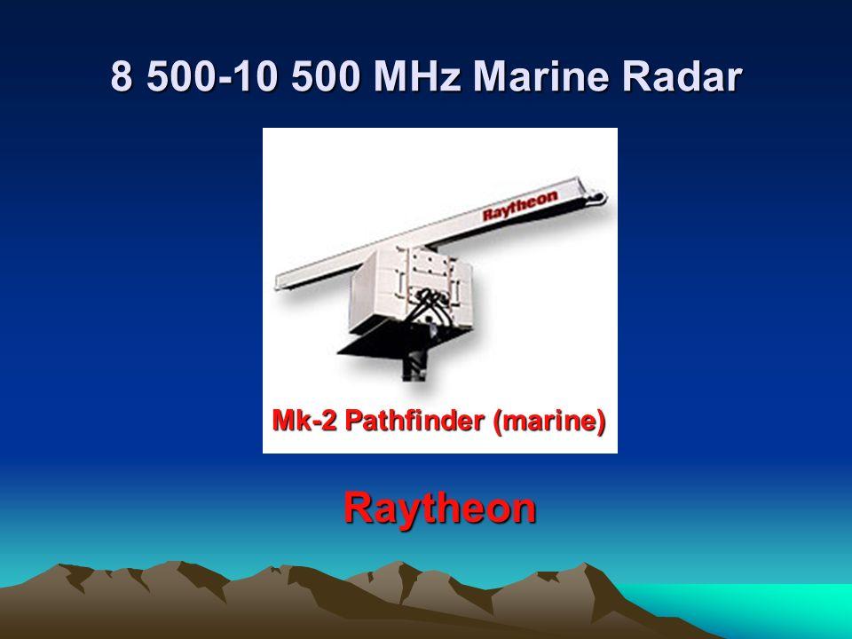 8 500-10 500 MHz Marine Radar Mk-2 Pathfinder (marine) Raytheon