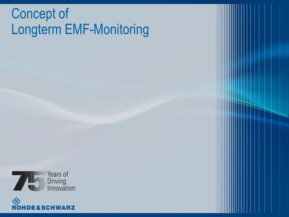 Concept of Longterm EMF-Monitoring